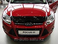 Мухобойка (дефлектор капота) на Ford Focus/Форд Фокус III, фото 1