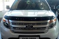 Мухобойка (дефлектор капота) на Ford Explorer/Форд Эксплорер 2011-, фото 1