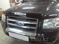 Мухобойка (дефлектор капота) на Ford Ranger 2/Форд Рэнджер 2, фото 1