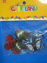 Бабочки для декора , на магнитах, Алматы