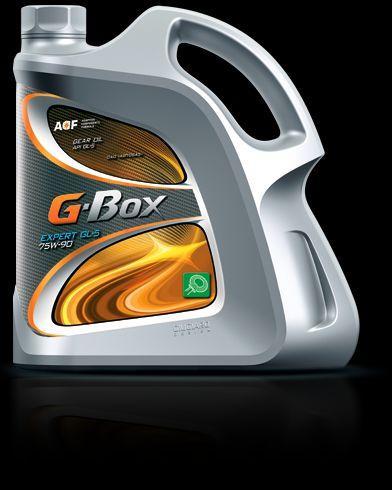 Трансмисионное масло G-Box Expert GL-5 75W-90 полусинтетика 4л.