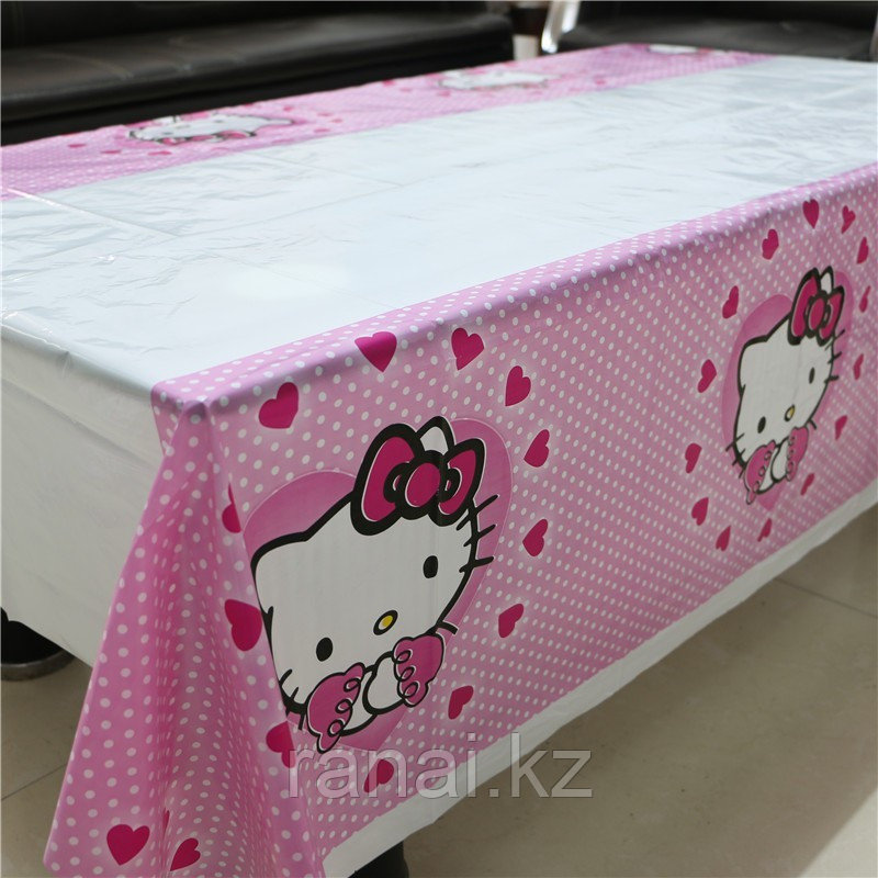 "Скатерть в стиле ""Hello Kitty"""