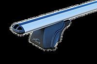 Багажник на автомобиль с рейлингами Lux Классик с аэродинамической дугой 120 см