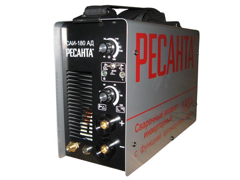 Сварочный  аппарат инверторный Ресанта САИ 180 АД