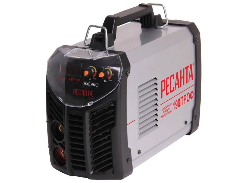 Сварочный  аппарат инверторный Ресанта САИ190 ПРОФ