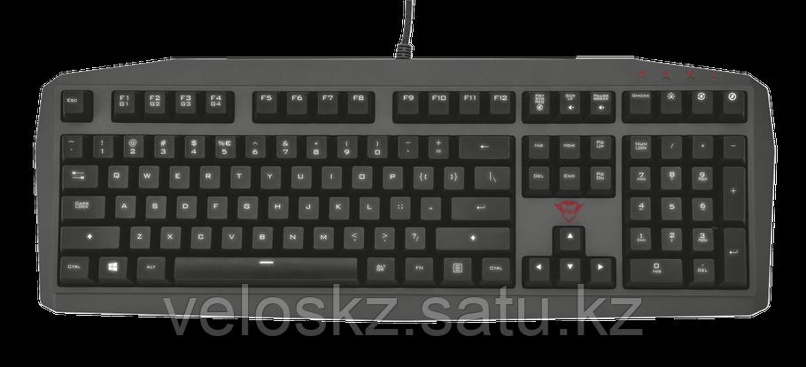 Клавиатура игровая TRUST US GXT880 MECHANICAL KB черный, фото 2