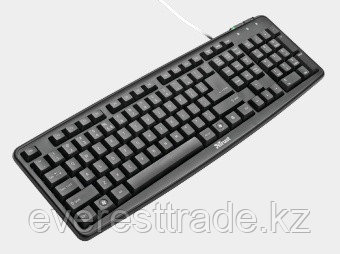 Клавиатура проводная Trust ru classicline MM KB, фото 2