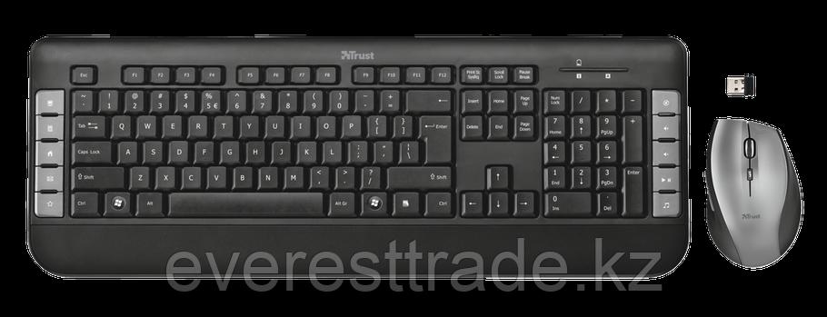 Комплект клавиатура+мышь Trust Tecla черный, фото 2