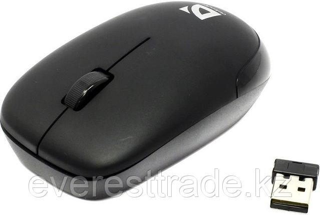 Мышь беспроводная Defender Datum MM-015 черный, фото 2