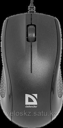 Мышь проводная Defender Optimum MB-160, черный, фото 2