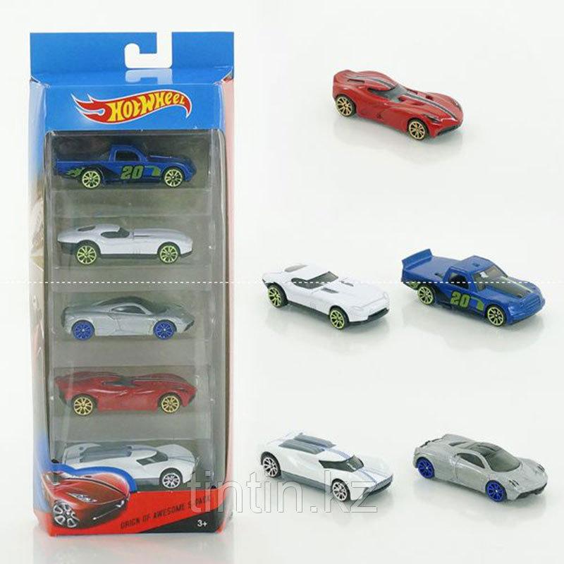 Набор моделек «Hot Wheels» D177-5, 5 шт, металлические, в коробке