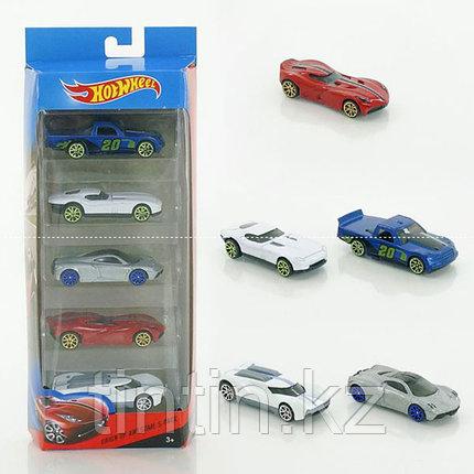 Набор моделек «Hot Wheels» D177-5, 5 шт, металлические, в коробке, фото 2