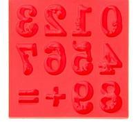 Силиконовая форма молд для творчества Цифры 8*8