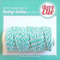 Шнур декоративный Avery Elle Hemp Twine- AQUAMARINE