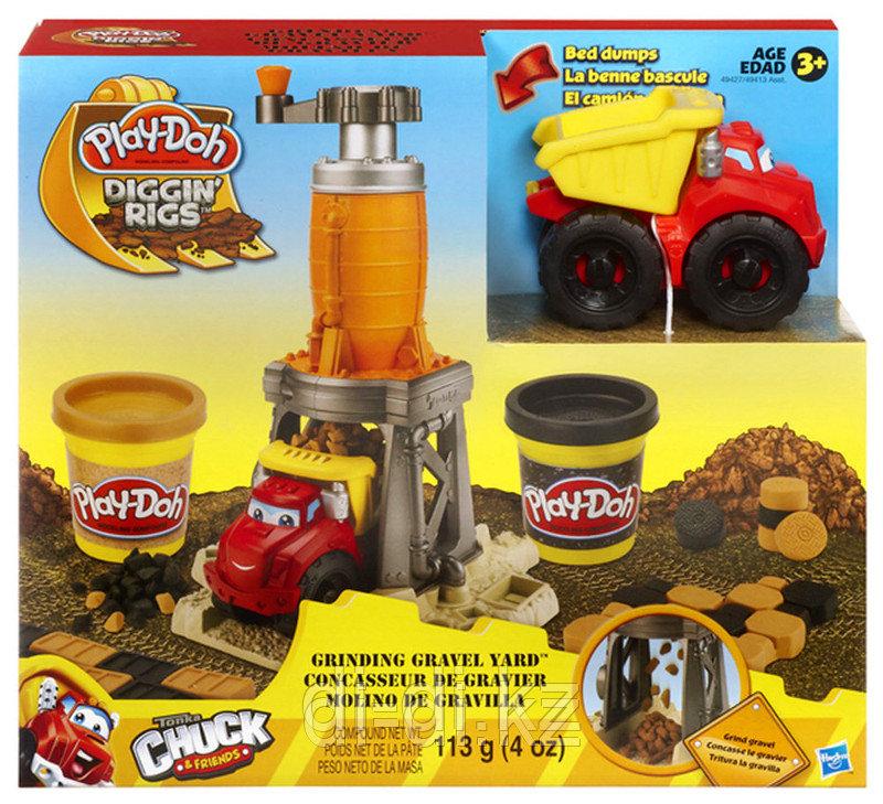 Play-Doh Строительный, игровой набор с пластилином, в ассортименте, Hasbro, 49413 - фото 2
