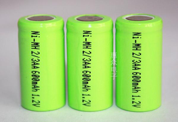 Аккумулятор 2/3AA 1.2V 600mA NI-MH