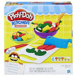 """Игровой набор Play Doh (Плей до)  """"Приготовь и нарежь на дольки"""""""