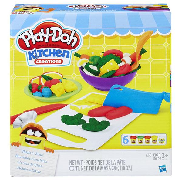 """Игровой набор Play Doh (Плей до) """"Приготовь и нарежь на дольки"""" - фото 1"""