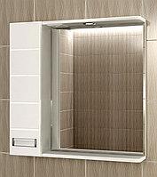 "Шкаф зеркало ""CUBE 65"" левый"
