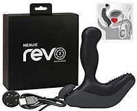 *NEXUS REVO 2 Вибромассажер простаты с вращающейся головкой серый, фото 1