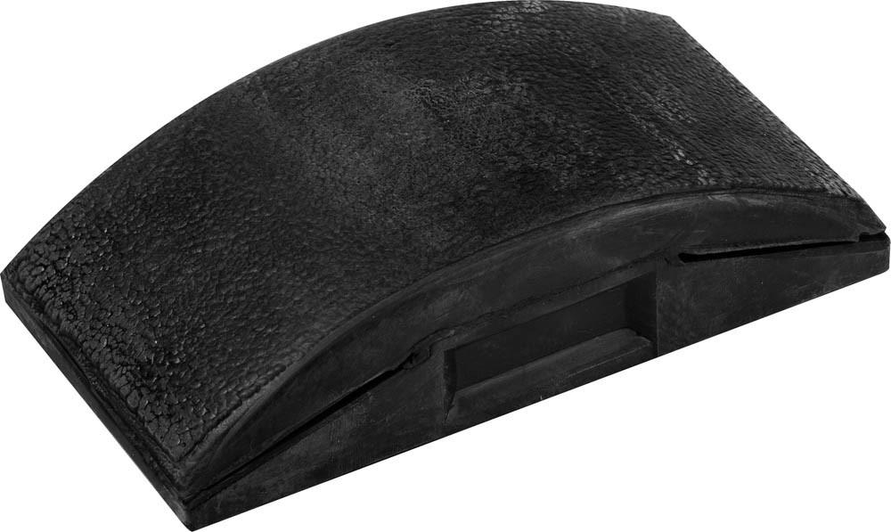 (3564) Брусок STAYER для шлифования, резиновый, 130х70мм