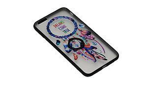 Чехол с кольцом силиконовый iPhone 7, фото 3