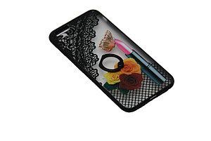 Чехол с кольцом силиконовый iPhone 7 Plus, фото 2