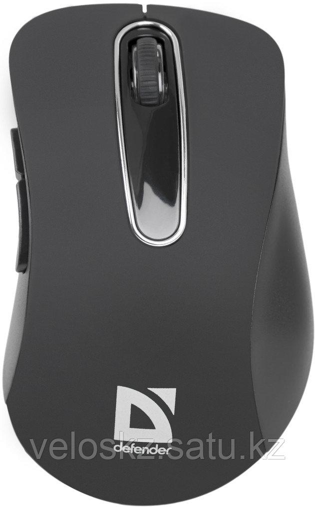 Мышь беспроводная Defender Datum MM-075 черный