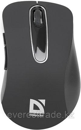 Мышь беспроводная Defender Datum MM-075 черный, фото 2