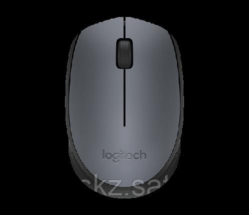 Мышь беспроводная Logitech M170 серый, фото 2