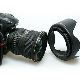 Бленда для объектива Camera Lens Hood 55мм, фото 2
