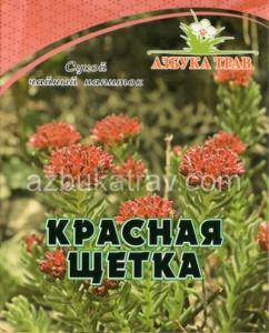 Красная щетка (родиола четырехлепестная),корни, 25г