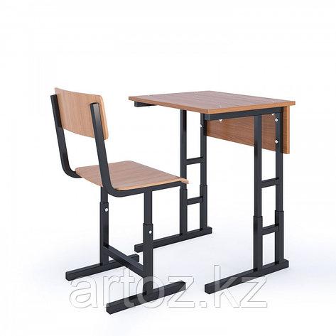 Парта 1-местная+ 1 стул, фото 2