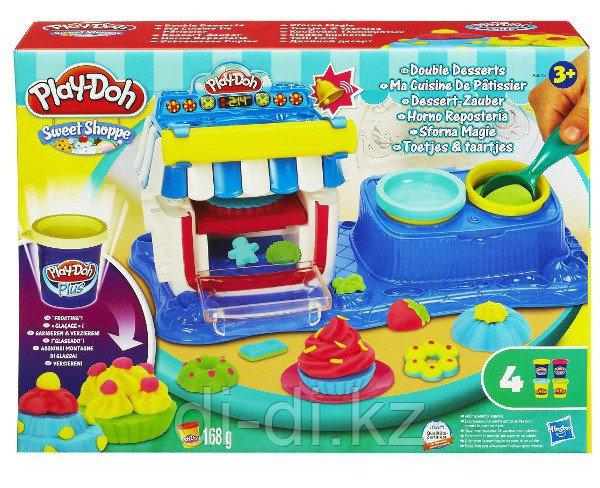 Play Doh Набор пластилина Двойные десерты