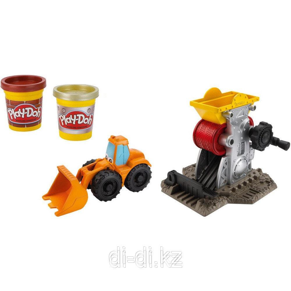 Play-Doh Строительный, игровой набор с пластилином, в ассортименте, Hasbro, 49413 - фото 5