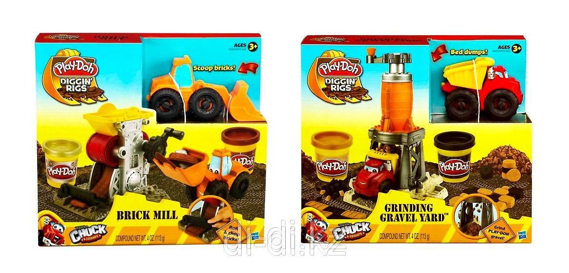 Play-Doh Строительный, игровой набор с пластилином, в ассортименте, Hasbro, 49413 - фото 1