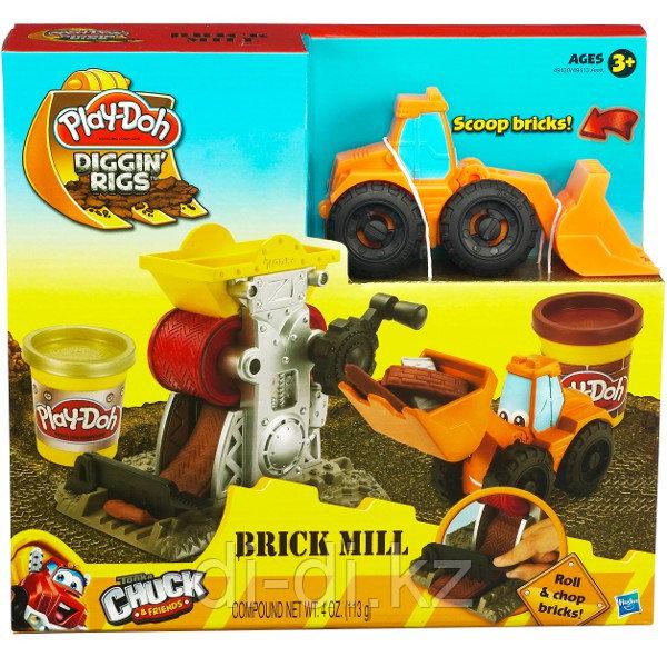 Play-Doh Строительный, игровой набор с пластилином, в ассортименте, Hasbro, 49413 - фото 3