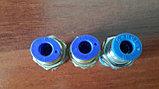 Прямой фитинг-соединитель трубка трубка, фото 2