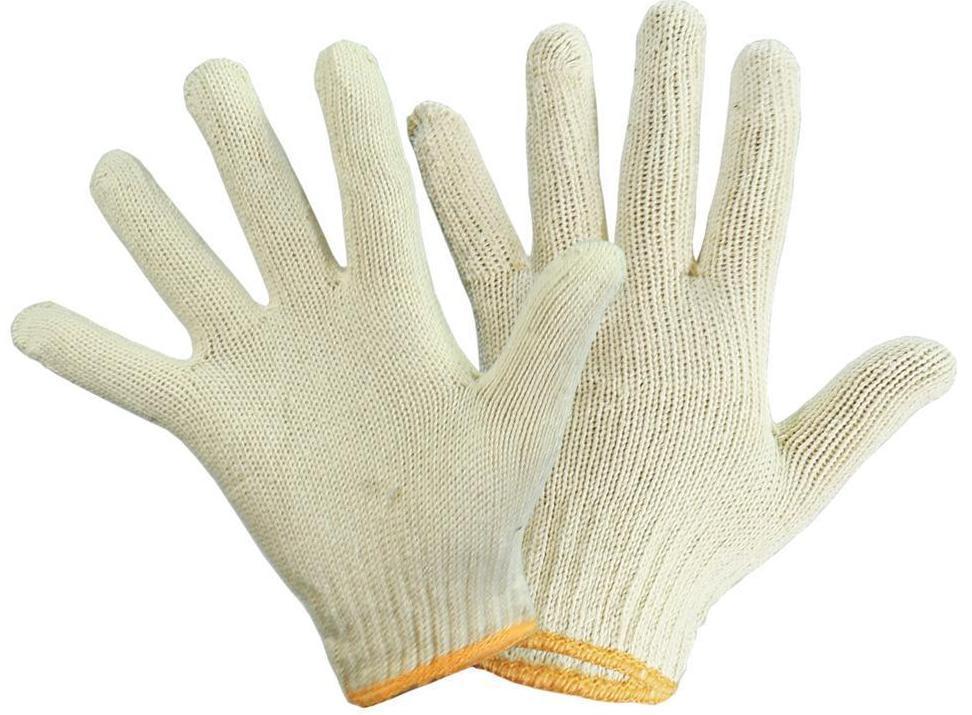 Перчатки х/б, белые