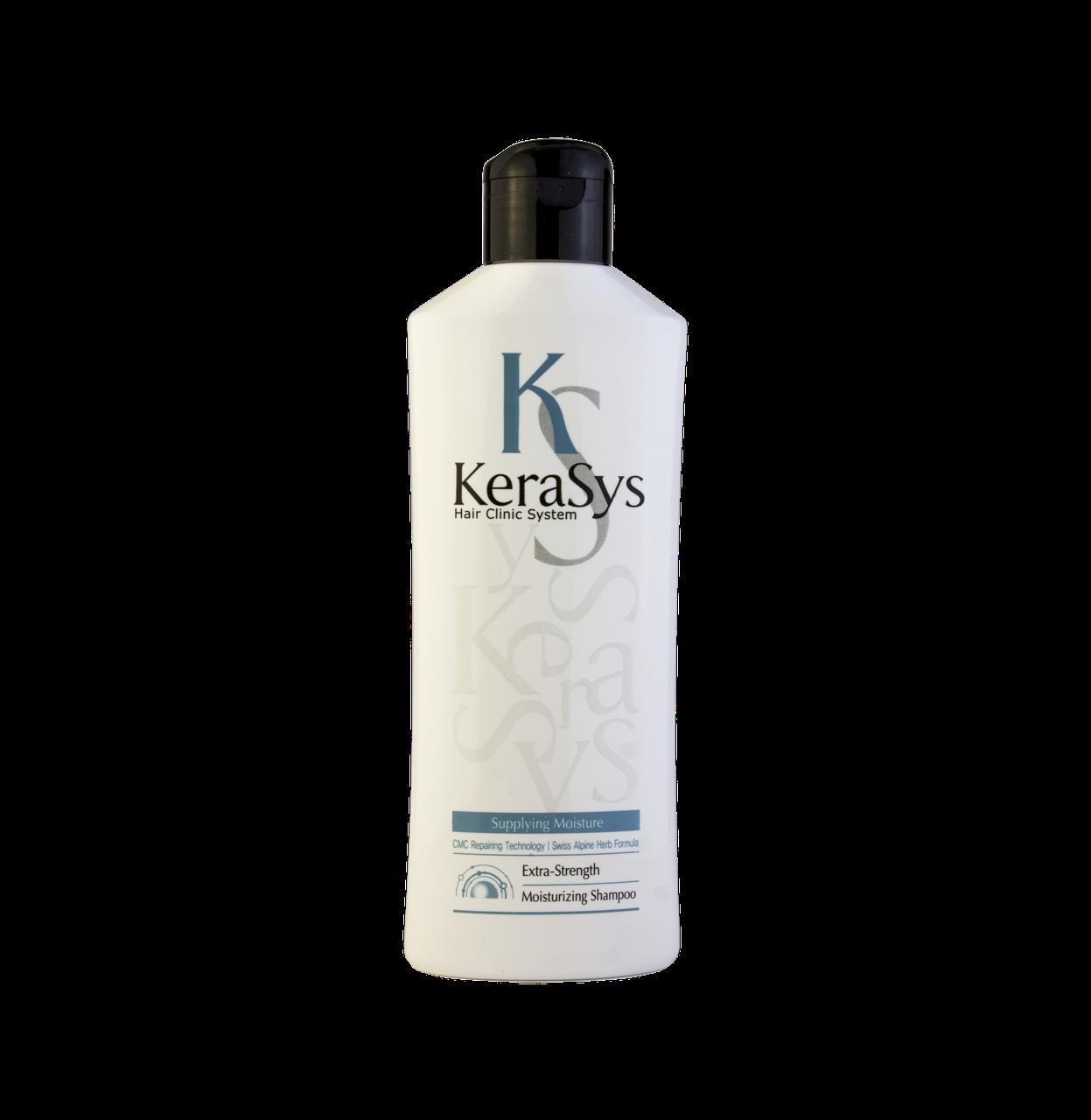 KeraSys Hair Clinic Moisturising Shampoo Шампунь для волос увлажняющий 180 мл.