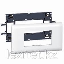 Суппорт/Рамка 4 Модуля DLP Крышка 65мм, фото 2