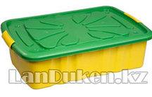 Ящик 600*400*170 мм для игрушек на колесах 30000 (003)