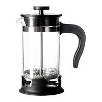 Кофе-пресс/заварочный чайник УПХЕТТА 0.4 л. стекло ИКЕА IKEA, фото 1