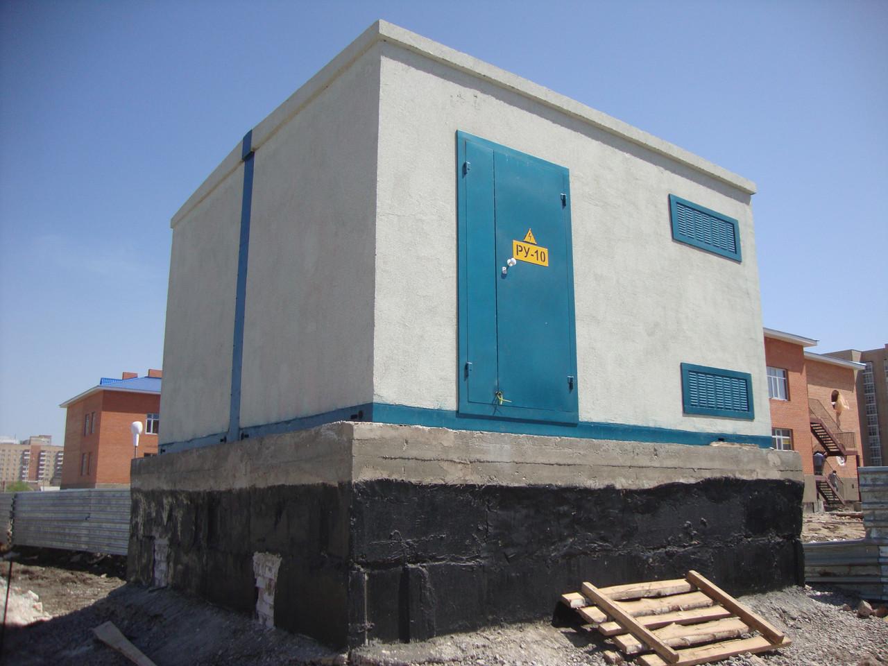 Бетонная комплектная трансформаторная подстанция БКТП 2*1250-10(6)/0,4