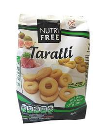 ТМ Nutrifree продукция без глютена-Taralli сушки,булочки,хлеб производство Италия