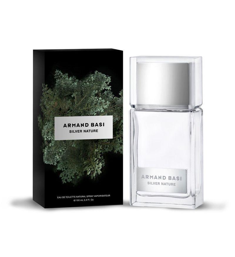 Одеколон мужской Silver Nature Armand Basi