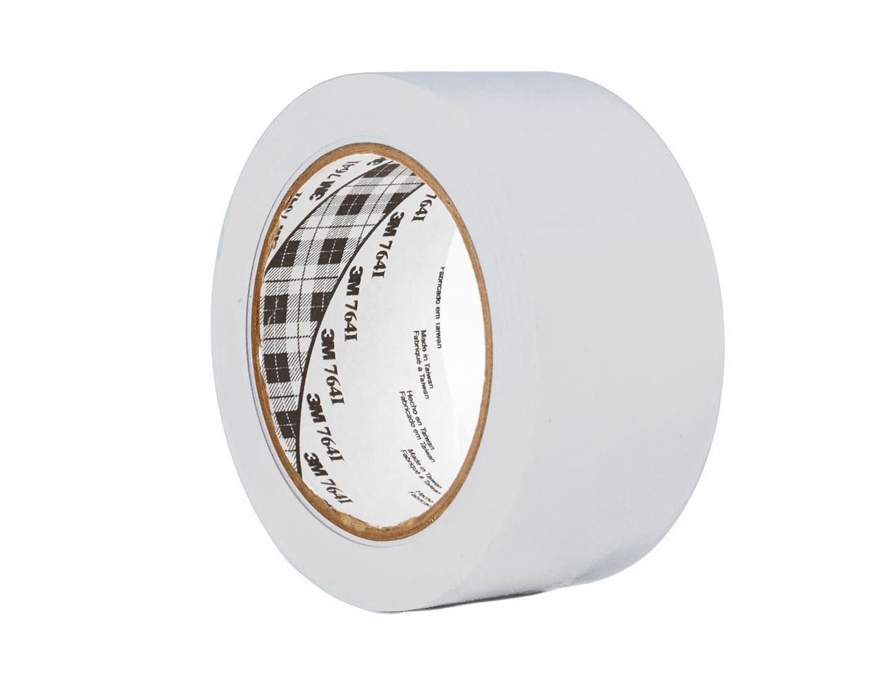 Белая разметочная лента 3М™ скотч 764i (0,13мм) 50ммХ33м