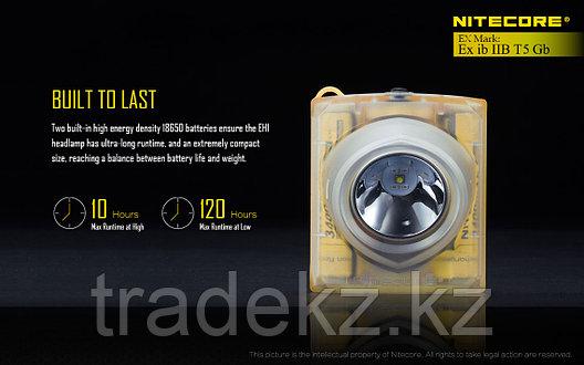 Фонарь налобный светодиодный взрывозащищенный NITECORE EH1, фото 2