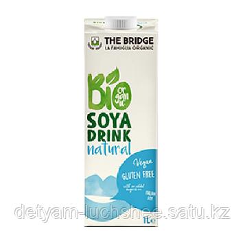 Безлактозный,безглютеновый органический соевый напиток Bio Soya Drink