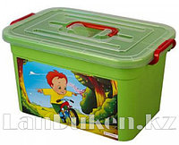 Ящик детский Радуга 355*235*190 мм 10 л. 81001 (003)